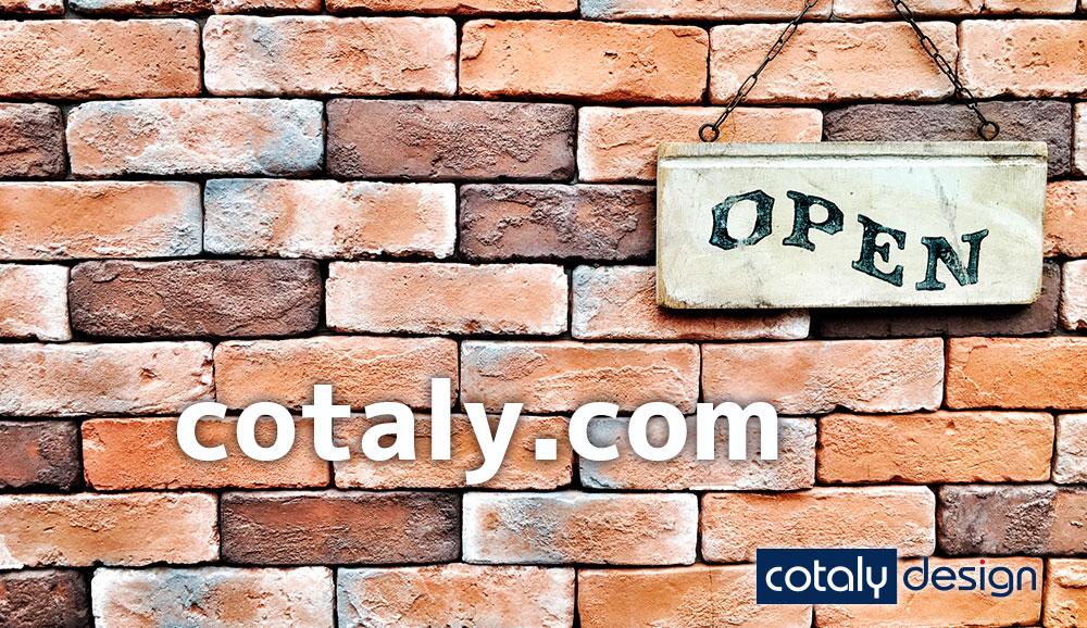 cotaly designウェブサイトを公開しました♪